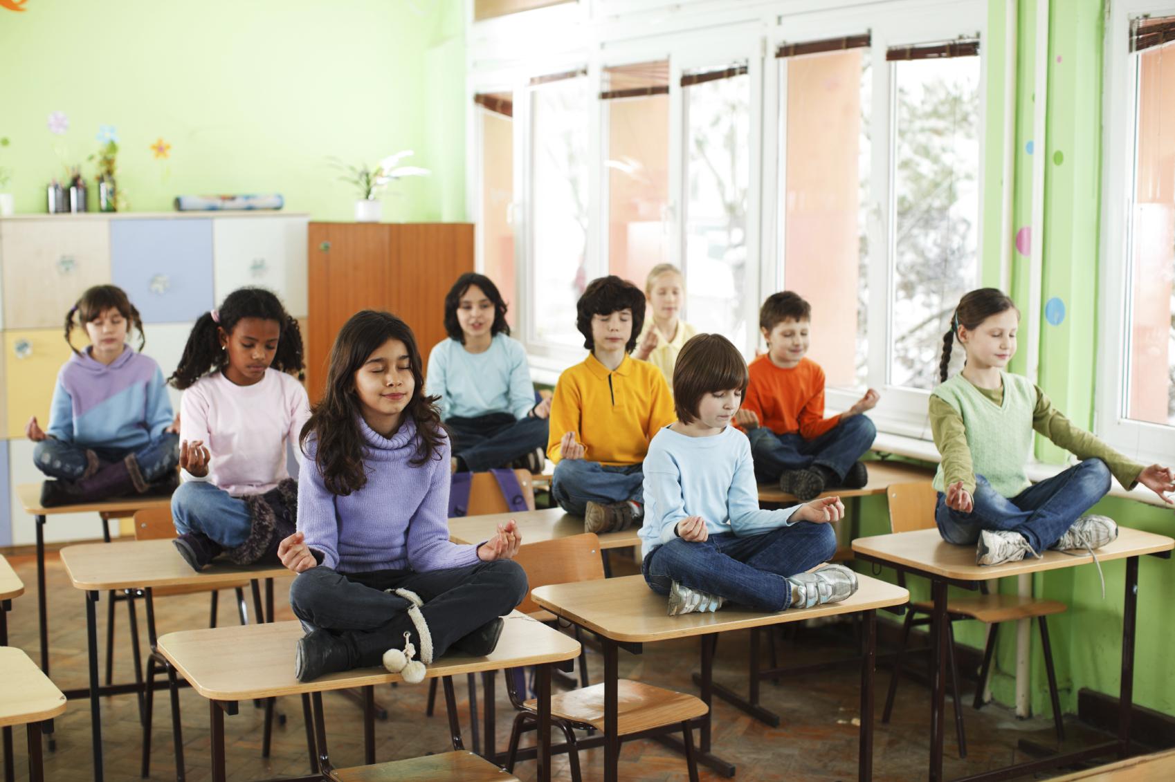 Image result for mindfulness school children