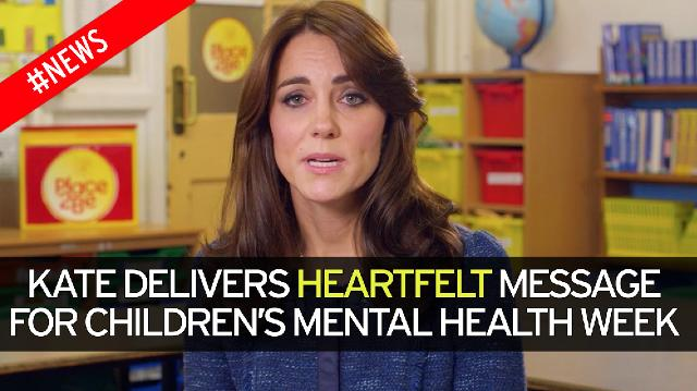kate middleton, mental health, mindfulness, children